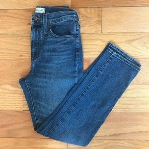 Madewell High Rise Slim Boy Jeans - Petite